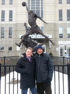 con Manuel Marrón, consejero delegado de GILMAR en Chicago
