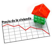 El precio de la vivienda desciende